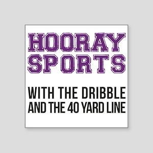 Hooray Sports [Purple] - With The Dribble Sticker